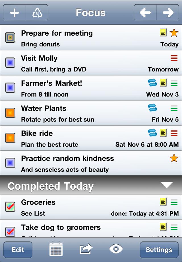 Errands To-Do Listスクリーンショット