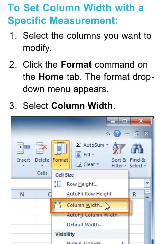 GCF Excel 2010 Tutorialスクリーンショット