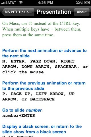 Microsoft PowerPoint Tips & Tricksスクリーンショット