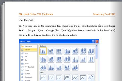 Office 2010 Cookbookスクリーンショット
