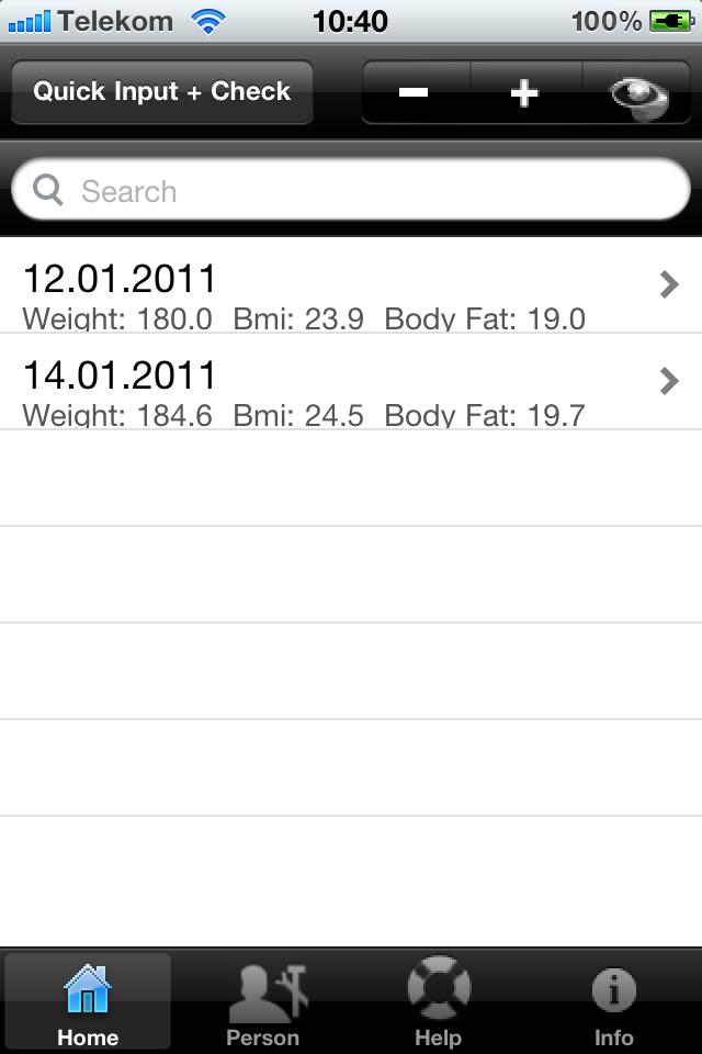 ブリティッシュミッドランド航空+体脂肪電卓スクリーンショット