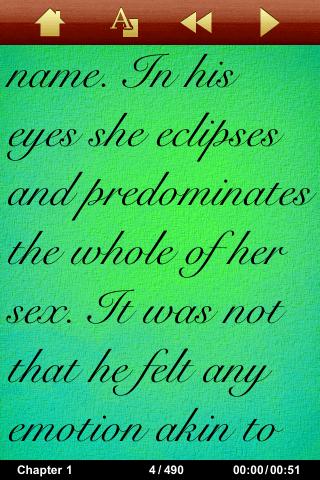 英語で読むシャーロック・ホームズの冒険スクリーンショット