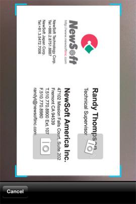 BizCard (English)スクリーンショット