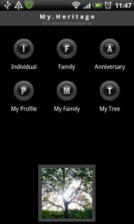 My Heritage (家系+記念日管理)スクリーンショット
