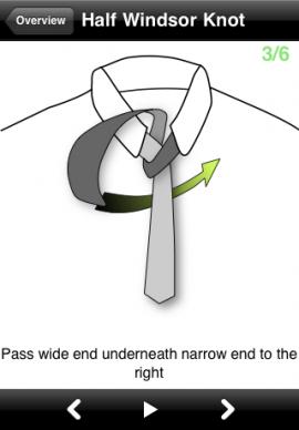 vTie – necktie guideスクリーンショット