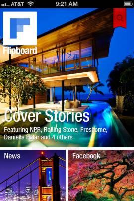 Flipboard: あなたのソーシャルニュースマガジンスクリーンショット