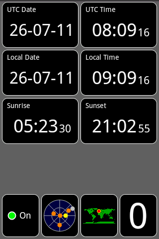 GPS Testスクリーンショット