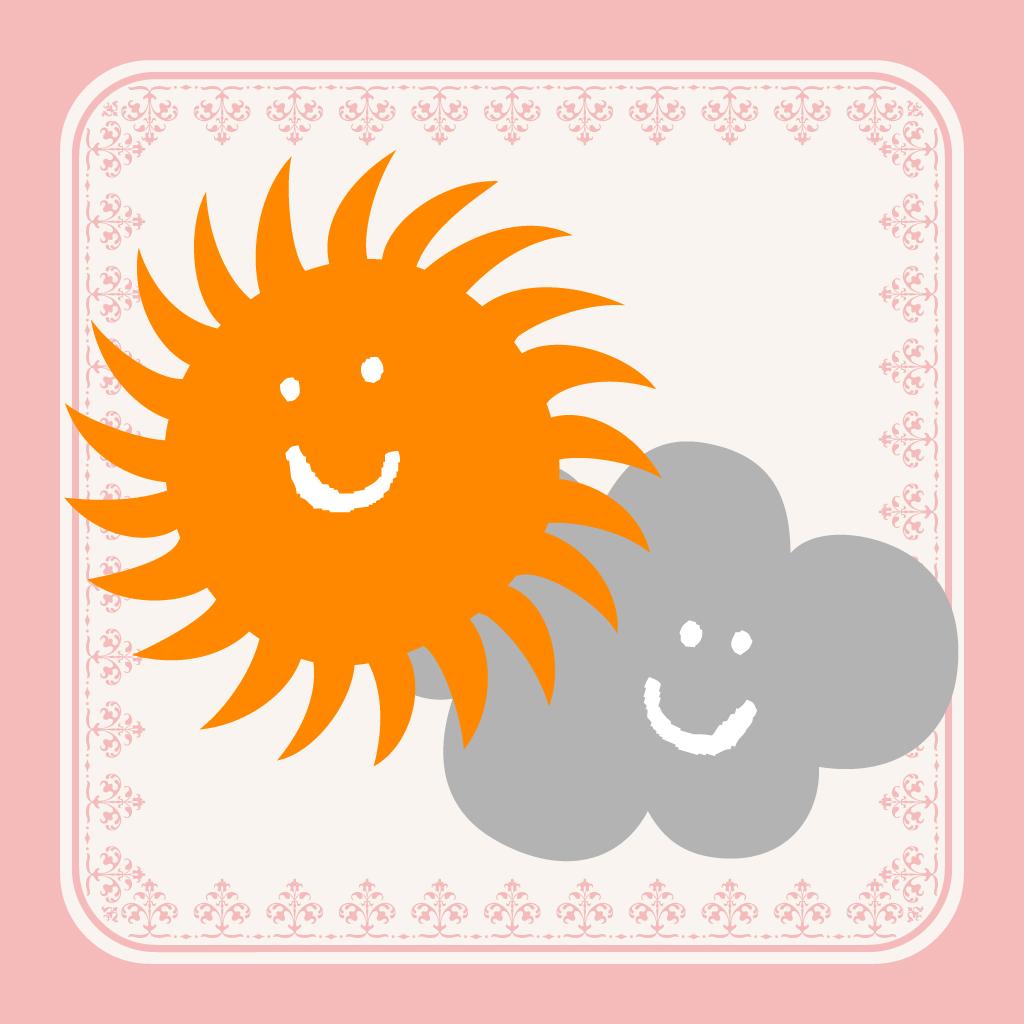 おしゃれ天気 女子に人気の今日のコーデと天気が一度にわかる かわいい画面の天気予報アプリ!