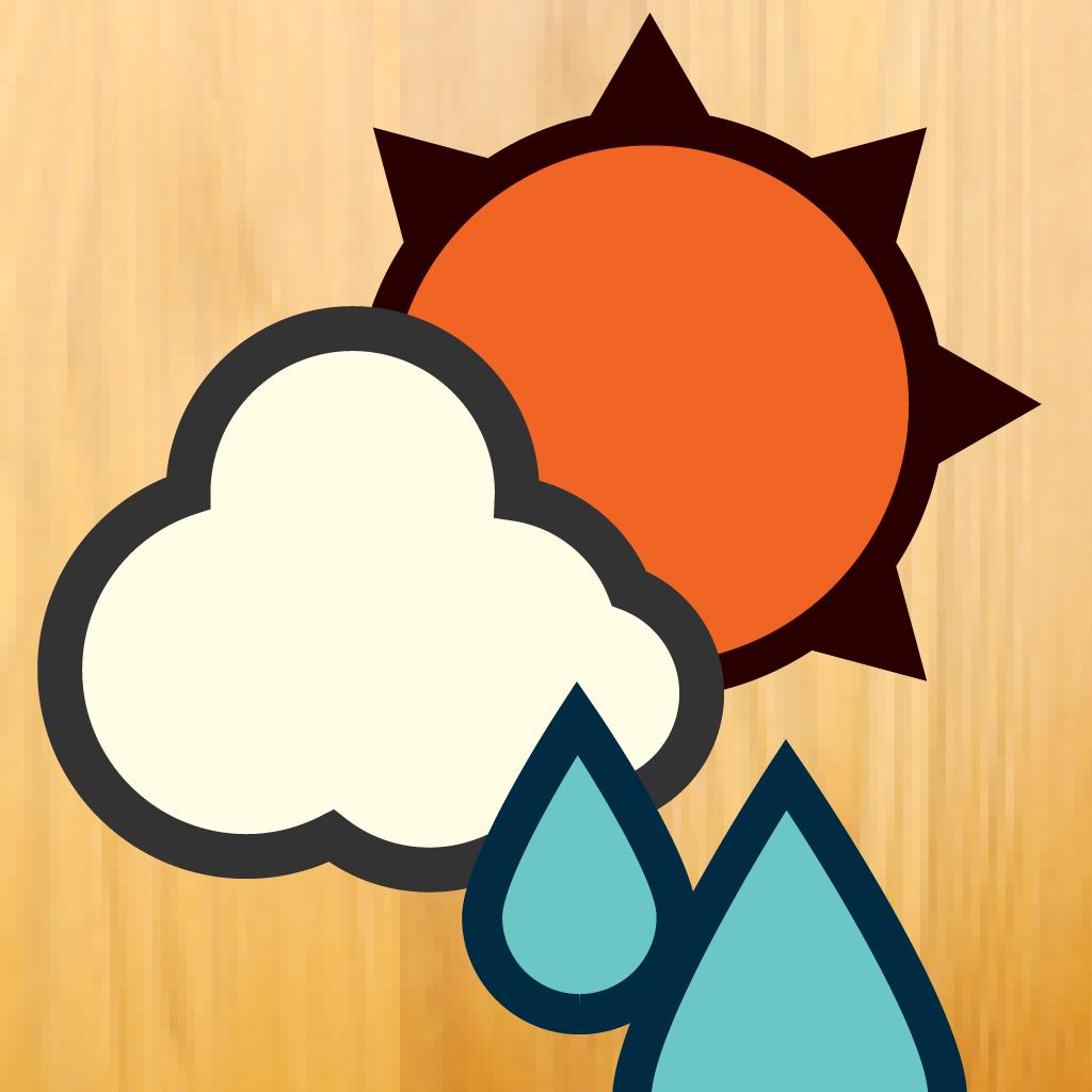 お天気アプリに迷ったらコレ!シンプルで可愛い「おてがる天気」