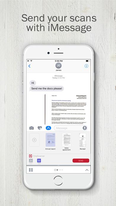 スキャナアプリの最新版!『FineScanner』スクリーンショット